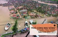 [Photo Story] Cảnh 'phố như sông' ở nhiều tỉnh thành sau cơn bão số 3
