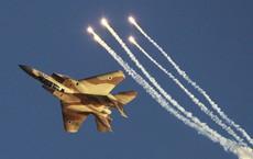 Israel bắt đầu tung đòn không kích dữ dội xuống dải Gaza