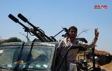 """Nga dội lửa càn quét, """"Hổ Syria"""" tiên phong ồ ạt tiến công tiêu diệt IS"""