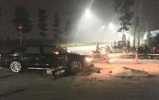 Ô tô Audi biển số tứ quý đấu đầu xe máy trong đêm, nam thanh niên tử vong