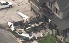 """Quá bất mãn, phi công Mỹ lao thẳng máy bay vào nhà mình hòng """"ám sát"""" vợ nhưng bất thành"""