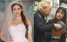 """Bỏ rơi mỹ nhân TVB, ông trùm 80 tuổi hẹn """"uống trà sữa"""" với thiếu nữ đáng tuổi cháu"""