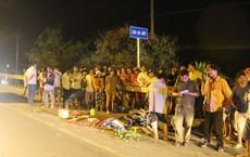 Người phụ nữ bị cán qua người tử vong, người dân đuổi chặn xe tải gây nạn