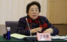 Lần lộ diện hiếm hoi của em gái cựu Chủ tịch Trung Quốc Giang Trạch Dân