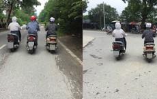 """Hình ảnh ba chị gái """"Ninja"""" và cách đi trên đường khiến tất cả đều ngán ngẩm"""