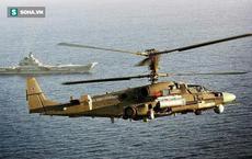 PV Việt Nam duy nhất được xuống tàu sân bay Kuznetsov Nga bằng bay SIM trực thăng