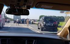 Vụ tài xế Lexus bị tông chết khi làm việc với CSGT trên cao tốc: Chủ ô tô biển tứ quý 8 có mặt trên xe