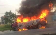Ô tô đâm vào dải phân cách, 2 vợ chồng chủ xe bị thương nặng