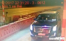 Siêu xe Cadilac gắn biển 'xe hộ đê' trốn phí trên cao tốc Hà Nội – Hải Phòng