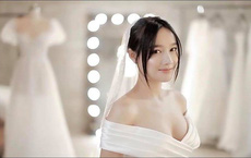 Lộ thêm clip mặc váy cưới, chưa bao giờ thấy Nhã Phương gợi cảm đến thế!