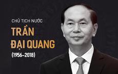 [TRỰC TIẾP] Lễ viếng Chủ tịch nước Trần Đại Quang