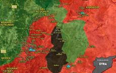 """""""Hổ Syria"""" nghiền nát phiến quân, sắp chiếm thị trấn chiến lược ở Idlib"""