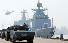 """Tuyên bố """"chiến tranh không còn xa"""", Trung Quốc rầm rộ tập trận ứng phó xung đột"""