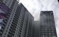 Tòa nhà cao nhất Hải Phòng bốc cháy