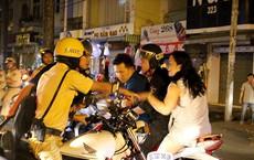 Cảnh sát TP.HCM xử lý nhiều thanh niên cổ vũ quá khích