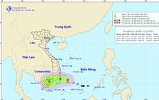 Áp thấp nhiệt đới mạnh lên thành cơn bão số 8