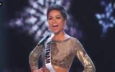 """H'Hen Niê xuất hiện tự tin, hô to hai tiếng """"Việt Nam"""" trong đêm thi bán kết Miss Universe 2018"""