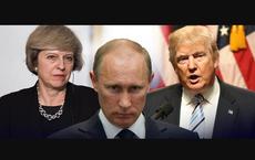 """Ông Trump mắc kẹt, bà May vào thế bí: Nga chưa """"ra tay"""", phương Tây đã tự ngã?"""