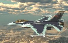 """""""Chim Ưng"""" F-16 đội lốt tiêm kích tàng hình Su-57: Mục tiêu cho Không quân Mỹ tập bắn"""