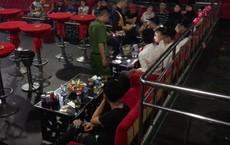 Phát hiện nhiều dân chơi đang phê ma túy trong quán bar, karaoke ở Sài Gòn