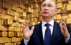 """Năm 2018, dự trữ vàng của Nga """"vượt mặt"""" TQ: Có tấm khiên này, Nga không còn sợ Mỹ trừng phạt?"""