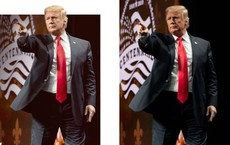 """Dân Mỹ """"phanh phui"""" những lần ông Trump dùng ảnh chỉnh sửa thẩm mỹ quá đà"""