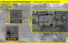 Lộ ảnh vệ tinh mới nhất vụ Israel tấn công Syria: Nhiều tổ hợp phòng không Syria tan nát