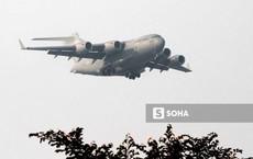Vận tải cơ C-17 Globemaster III của Không quân Mỹ hai lần hạ cánh tại Đà Nẵng