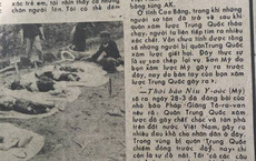 Báo QĐND 1979: Phóng viên Nhật Bản ghi lại tội ác của quân Trung Quốc