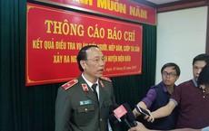 Tướng công an lý giải việc khai quật, khám nghiệm lại tử thi nữ sinh bị giết vào 30 Tết