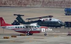 Ngựa thồ C-17 Mỹ đáp xuống sân bay Nội Bài, thả siêu trực thăng Marine One của TT Trump
