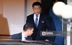 [ẢNH] Trưởng đoàn đàm phán Triều Tiên rời nhà khách Bộ ngoại giao