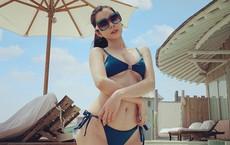 """Nhan sắc nóng bỏng của """"Hoa hậu Du lịch Thế giới"""" Huỳnh Vy"""