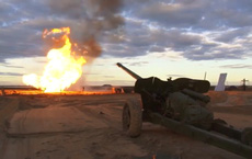 Ngạc nhiên khi Quân đội Nga dùng... pháo chống tăng để chữa cháy