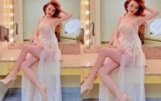 """Hồ Ngọc Hà mặc sexy, tạo dáng gợi cảm được gọi là """"nữ thần"""" ở tuổi 35"""
