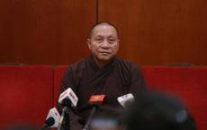 Đại đức Thích Trúc Thái Minh, trụ trì chùa Ba Vàng bị đề nghị tạm đình chỉ mọi chức vụ