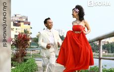 """Hôn nhân ly kỳ như truyện cổ tích của diễn viên """"xấu nhất showbiz Việt"""" và hot girl phố cổ kém 10 tuổi"""