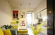 Nhà tập thể 35m² được thiết kế thông minh với 2 phòng ngủ dành cho gia đình 3 người