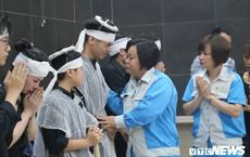 Ảnh: Nước mắt tiễn đưa nữ công nhân môi trường bị xe 'điên' tông chết về với đất mẹ