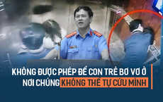 Công an chưa khởi tố vụ nguyên Phó Viện trưởng VKSND Đà Nẵng sàm sỡ bé gái trong thang máy