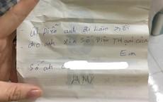 Cô gái nhận mảnh giấy xin số điện thoại ở khe cửa phòng trọ, càng hoảng khi phát hiện người viết