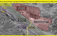 Lộ ảnh Iran xây dựng cơ sở vũ khí bí mật tại biên giới Syria