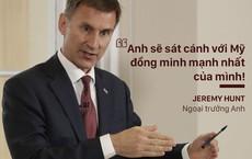 """Ngoại trưởng Anh thừa nhận: Anh có thể theo Mỹ """"sa chân"""" vào cuộc chiến với Iran"""