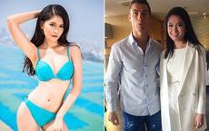 Vẻ quyến rũ của mỹ nhân Việt hiếm hoi được Cristiano Ronaldo trò chuyện và ôm eo