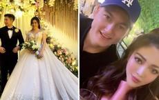 Không biết thân thiết cỡ nào mà Lâm Tây bay hẳn từ Thái Lan về để dự đám cưới Rich Kid Trinh Hoàng