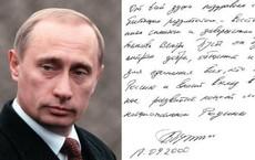 'Đọ' chữ viết tay của ba ông Trump, Putin, Kim Jong-un