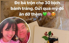 Lãng mạn khi yêu kiểu Rich Kid: Phan Hoàng được bạn gái tận tay trộn hẳn 30 bịch bánh tráng, gửi sang Mỹ ăn cho đỡ thèm