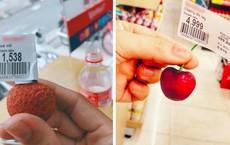Trào lưu vào siêu thị rồi mua đúng 1 quả gây tranh cãi: Mắc cười hay... mắc mệt?