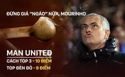 """Man United đang lìa bỏ cuộc sống của bậc đế vương, Mourinho đừng giả """"ngáo"""" nữa!"""