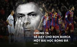 """Mourinho từng """"dạy bọn Barca đá bóng"""" ở Siêu kinh điển như thế đấy!"""